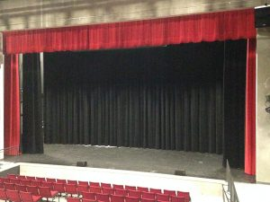 LVPA Front Curtain Open