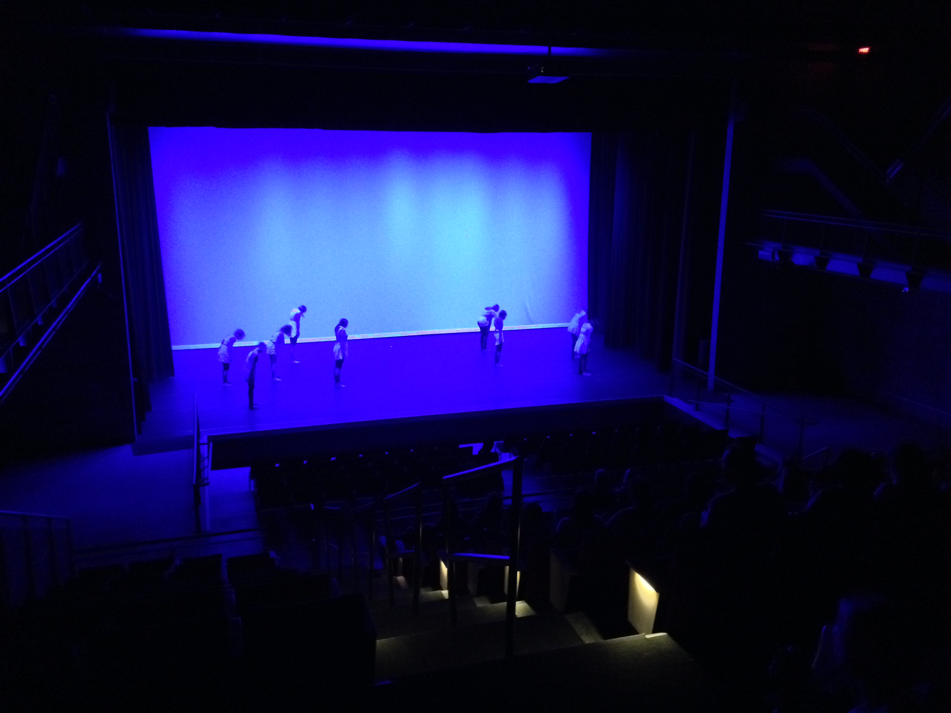 Center Stage Lighting And Rigging Inc Worked With The Charter Arts High School To Design Specify Install Curtains
